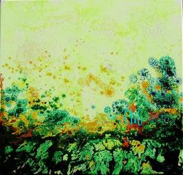 Landschaft in Zitron