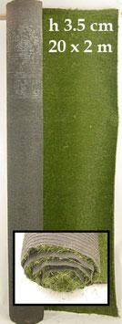 Rotolo di Erba Sintetica (max 20m x 2m x H3,5cm)