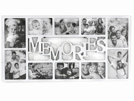 PORTAFOTO MEMORIES 12 POSTI CM44,5X2H58