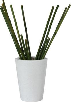 Vaso 'poliresina' avorio H 40 cm. x Diam. 30 cm.