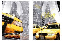 PARAVENTO TAXI NEW YORK (3 ANTE DA 40X180H)