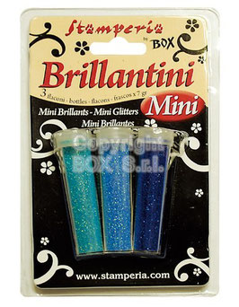 SET 3 BRILLANTINI 7gr