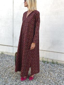 SixTwelve Brown Kaftan Dress