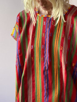 oops SOLD Multi Embroidered Mexican Huipil