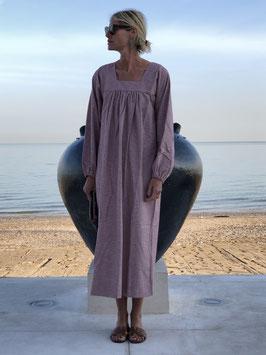 No#42  Smocked Gingham Dress