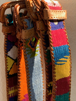 oops SOLD Guatemalan Belt - Multicolor