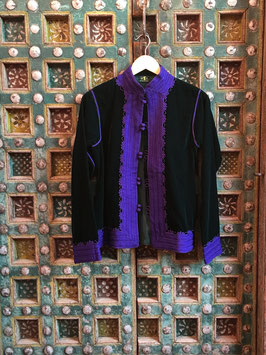 oops SOLD DELIA Jacket Green Purple