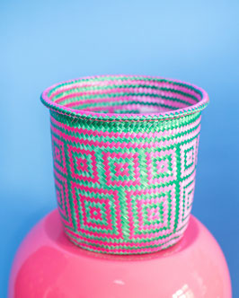 oops SOLD MIMBRES  MIXTECOS - Basket Pink