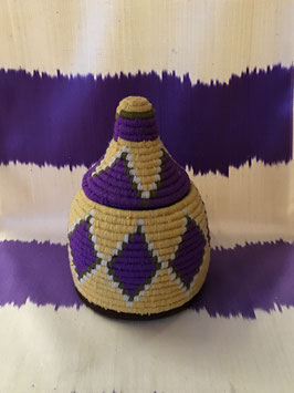 oops SOLD Colorful Vintage Berber Baskets