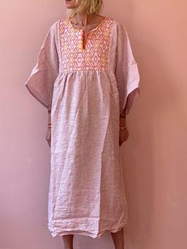 TINA PinkYellow Bella Dress