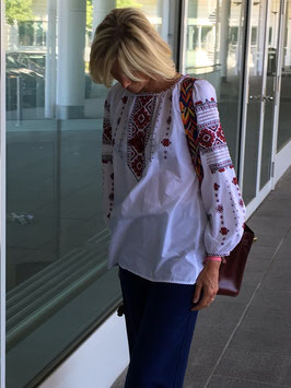oops SOLD VINTAGE - 1970s White Blouse