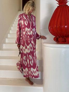 oops SOLD SixTwelve Ikat Red Kaftan Dress