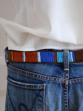 oops SOLD Belt Pearls Blue - African Love