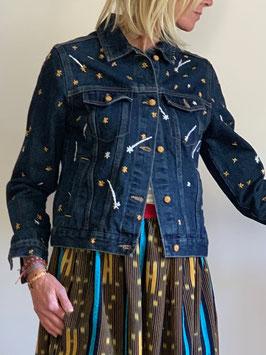 Denim Jacket Etoiles filantes