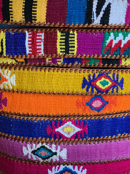 oops SOLD Guatemalan Belt - Multicolor embroidery
