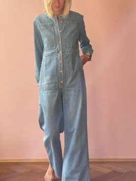 All In One - Denim Jumpsuit le bleu