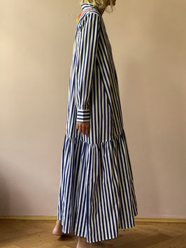 oops SOLD Stripe Maxi Robe