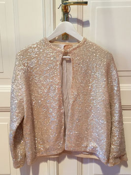oops SOLD VINTAGE - Sequin Cardigan (unsigned)