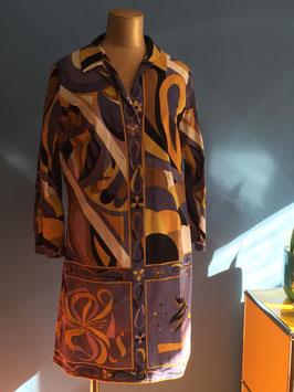 oops SOLD VINTAGE - 1960s Emilio Pucci Print Dress