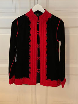 DELIA Jacket Black Red