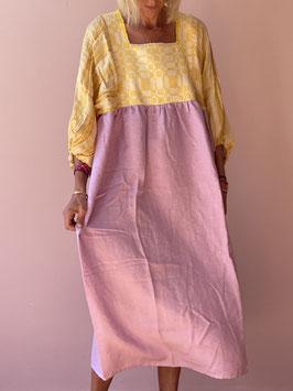TINA Purple Butterfly Dress