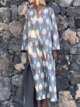 oops SOLD SixTwelve Ikat Grey Kaftan Dress