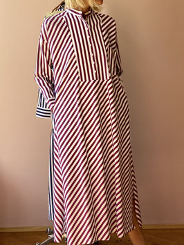 oops SOLD Stripe Kaftan