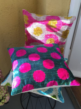 oops SOLD Private Label Small Lucy Velvet Ikat Pillow