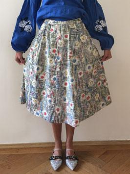 oops SOLD VINTAGE - Multi Color Skirt
