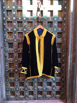 oops SOLD ELLA  Jacket Navy Yellow