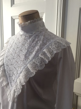 oops SOLD - VINTAGE  70s Lace Blouse