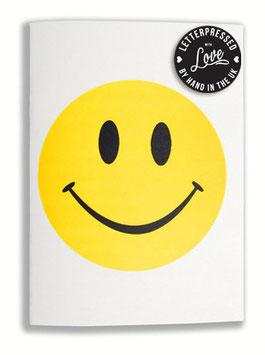 oops SOLD Smiley Notebook