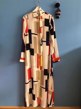 oops SOLD Mondrian Caftan Dress - NEW Designer