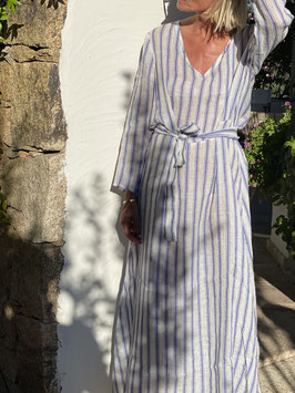 oops SOLD Clean Stripe Long Kaftan