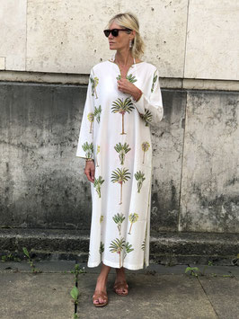 oops SOLD SixTwelve Palm Kaftan Dress