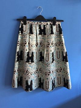 oops SOLD VINTAGE - Brocade Skirt