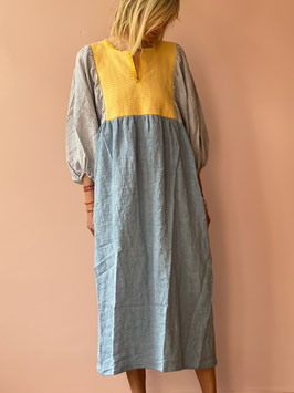 TINA Blue Butterfly Dress