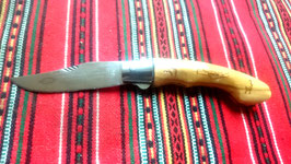 FOLDING KNIFE OLIVE WOOD No 1 WITH SAFETY LOCK SYSTEM