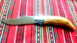 FOLDING KNIFE OLIVE WOOD No 2 WITH SAFETY LOCK SYSTEM