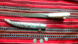 CRETAN SILVER KNIFE  5mm No 2