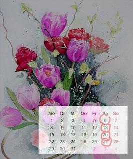 Blumenstrauß ABO 4 Wochen