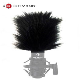 Gutmann Microphone Windscreen for AUNA MIC-900B USB
