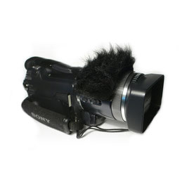 Gutmann Mikrofon Windschutz für Panasonic Handycams
