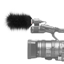 Gutmann Mikrofon Windschutz für Sony HXR-NX 5 / Externes Mikrofon