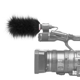 Gutmann Mikrofon Windschutz für Sony HVR-Z5 / HVR-Z5E (externes Mikrofon Sony ECM-XM1)