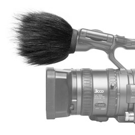 Gutmann Mikrofon Windschutz für Panasonic AG-HVX200