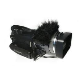 Gutmann Mikrofon Windschutz für Sanyo Handycams