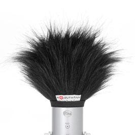 Gutmann Mikrofon Windschutz für Blue Microphones Blue Yeti USB Schwarz