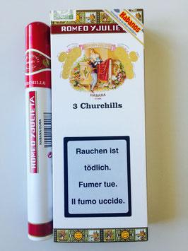 Romeo Y Julieta Churchill Tubos