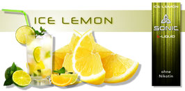 Sonic E-Liquid Ice Lemon
